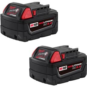 M18 XC5.0 Battery 2-Pack