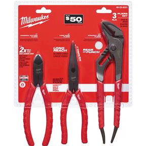 3 Pc. Pliers Kit