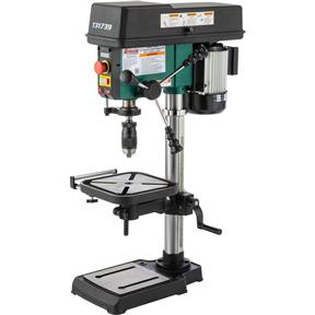 "12"" Variable-Speed Benchtop Drill Press with Laser"