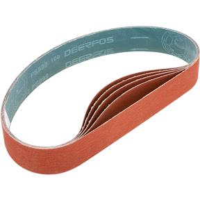 """2"""" x 36"""" Ceramic Sanding Belt 100 grit, 5 Pk."""