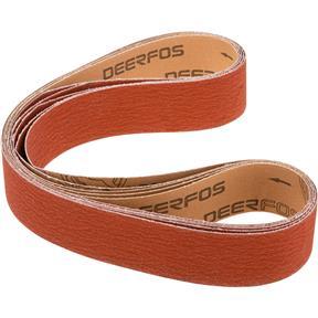"""2"""" x 48"""" Ceramic Sanding Belt 100 grit, 5 Pk."""