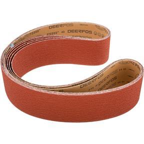 """4"""" x 79"""" Ceramic Sanding Belt 40 grit, 5 Pk."""
