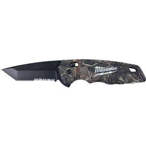 FASTBACK Camo Spring Assisted Folding Knife