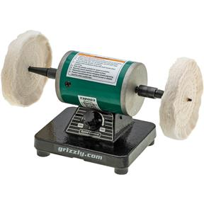 1/4 HP Variable-Speed Mini Benchtop Polisher