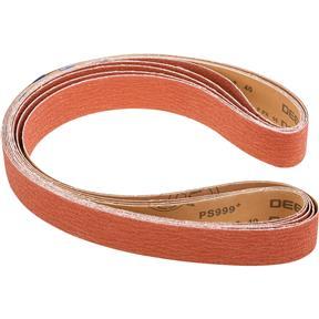 """2"""" x 72"""" Ceramic Sanding Belt, 40 Grit, 5 Pk."""