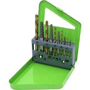 10 Piece Screw Extractor Set