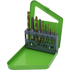 10 Piece Screw Extractor Set