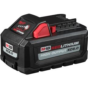M18 High Output XC6.0 Battery