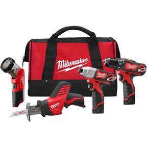 M12 Fuel 4-Tool Combo Kit