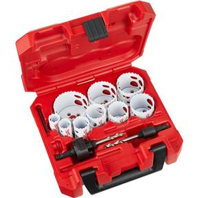 13 Pc. General Purpose Hole Saw Kit