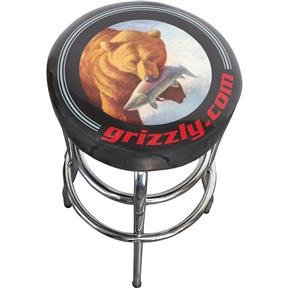 Grizzly Shop Stool - Black