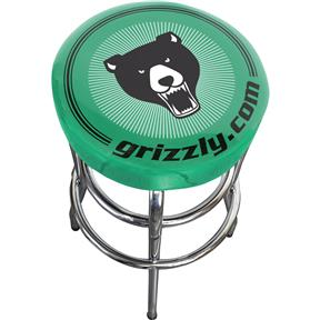 Grizzly Shop Stool - Green