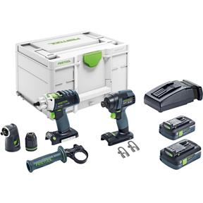 TID 18 and PDC Drill Driver Combo Kit