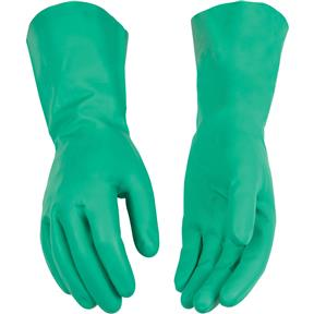 "13"" Disposable Nitrile Gloves, Large"