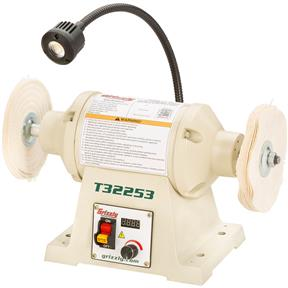 1/2 HP Variable-Speed Buffer With Work Light