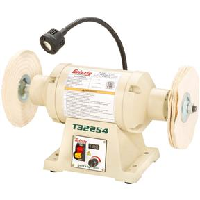 1 HP Variable-Speed Buffer With Work Light