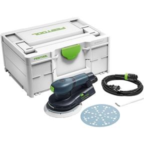ETS EC 150/3 EQ Compact Brushless Finish Sander w/ Systainer3