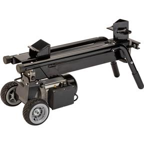 Electric Log Splitter With Wide Wheel