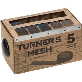 Abrasive Mesh Rolls Assortment 5 pack