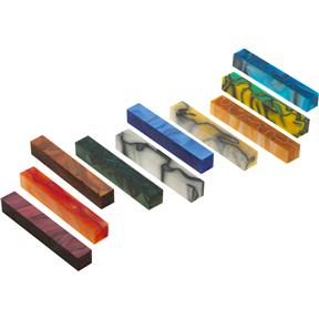 10 Pack of Acrylic Pen Blanks- 2
