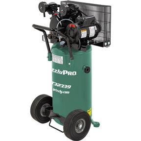 20-Gallon 2.0 HP Portable Air Compressor