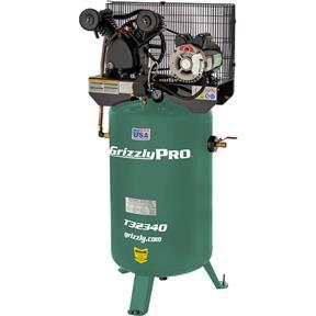 40-Gallon 3.0 HP Stationary Air Compressor