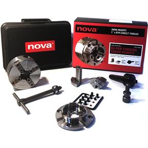 "Nova G3 Pen Turning Chuck Bundle Direct Thread 1"" x 8TPI"