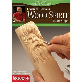 Wood Spirit Study Stick Kit (Study Stick & Booklet)
