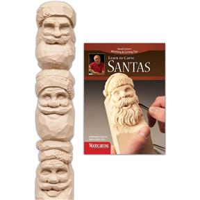 Learn to Carve Santas (Study Stick & Booklet)