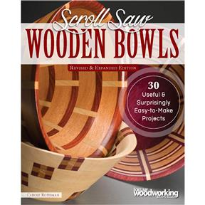 Scroll Saw Wooden Bowls, Revised & Expanded - Book