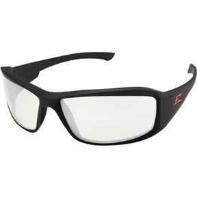 Brazeau Clear Anti-Fog Vapor Shield Lens Black Frame