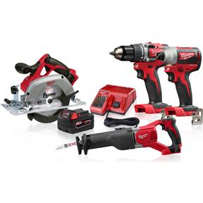 M18 4 Tool Combo Kit - Reconditioned