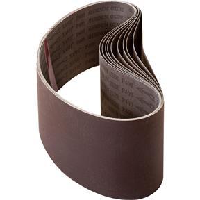 """6"""" x 48"""" A/O Sanding Belt 400 Grit, 10 Pk."""