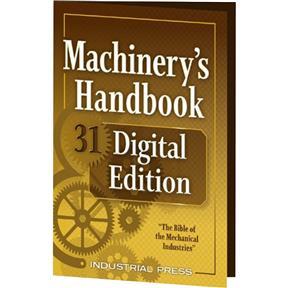 Machinery's Handbook, 31st Edition, Digital Edition