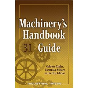 Machinery's Handbook 31st Edition Guide