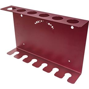 Deluxe Wall 6 Tool Storage Rack