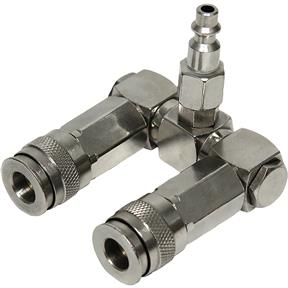 2-Way Swivel Splitter