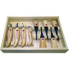 Deluxe Palm & Carving Knife Set
