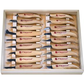 18 Pc. Deluxe Carving Knife Set
