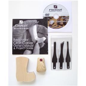 Beginner 3-Blade Craft Carver Set