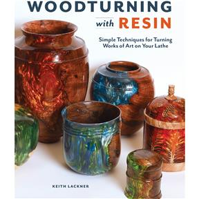 Woodturning with Resin - Book