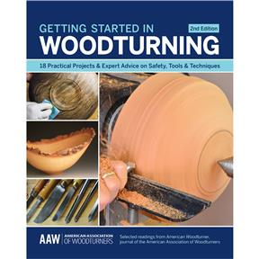 Getting Started in Woodturning, 2nd Edition - Book