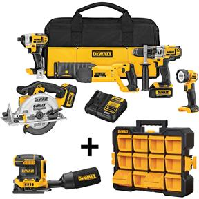 20V Max Premium 5-Tool Combo Kit Bundle