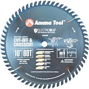 """10"""" x 5/8"""" x 60T ATB Electro-Blu Cut-Off Saw Blade"""