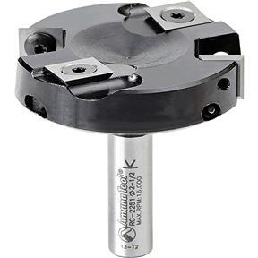 "Insert Carbide Spoilboard Surfacing Rabbeting Slab Leveler 1/2"" Shank Router Bit"