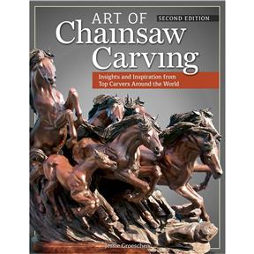 Art of Chainsaw Carving, Second Edition - Book