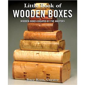 Little Book of Wooden Boxes - Book