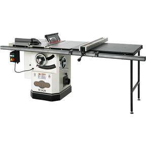 """10"""" 3 HP Cabinet Table Saw with Riving Knife and Long Rails"""