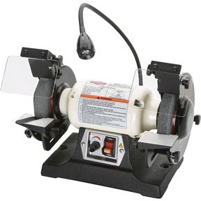 """6"""" Variable-Speed Grinder with Work Light"""