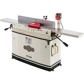 "8"" x 76"" Parallelogram Jointer with Helical Cutterhead & Mobile Base"
